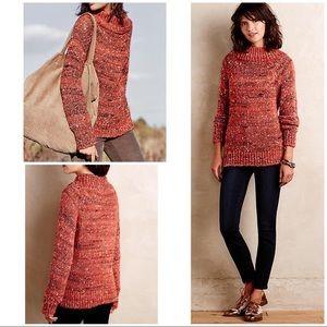 Moth Marled Mockneck Pullover Sweater